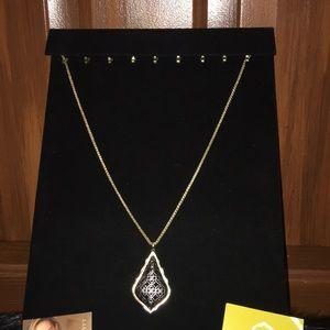 Kendra Scott Jewelry - KENDRA SCOTT Aiden Gunmetal / Gold Necklace - New